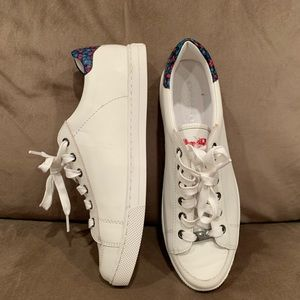 NEW Coach White Leather Sneaker